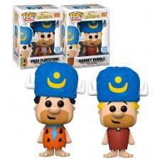 Funko POP! The Flintstones - Fred Flintstone & Barney Rubble (Stone Lodge) - Limited Funko Shop Exclusive - New - Funko (EU)