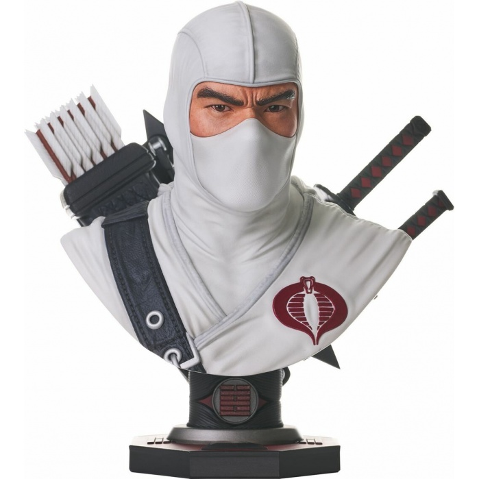 G.I. Joe: Legends in 3D - Storm Shadow 1:2 Scale Bust Diamond Select Toys Product