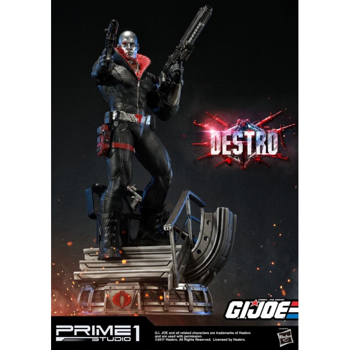G.I. Joe Statue 1/4 Destro Prime 1 Studio Product