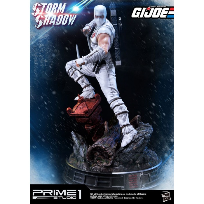 G.I. Joe Statue Storm Shadow Prime 1 Studio Product