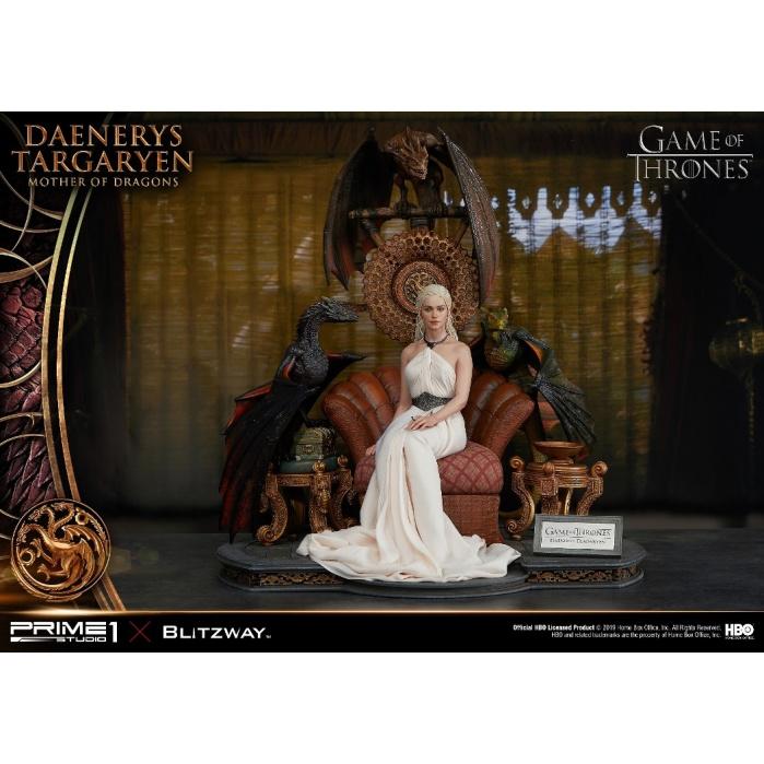 Game of Thrones: Daenerys Targaryen - Mother of Dragons Statue Prime 1 Studio Product