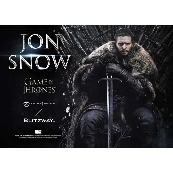 Game of Thrones: Jon Snow 1:4 Scale Statue Prime 1 Studio Product