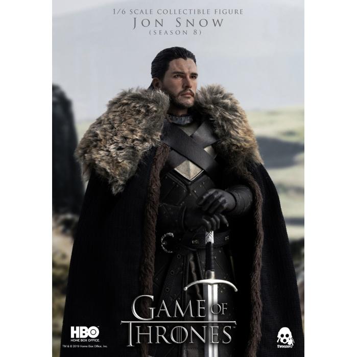 Game of Thrones: Jon Snow (Season 8) 1:6 Scale Figure threeA Product