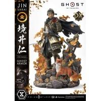 Ghost of Tsushima: Deluxe Bonus Jin Sakai The Ghost - Ghost Armor Edition 1:4 Scale Statue Prime 1 Studio Product