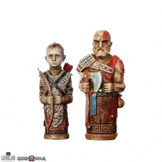 God of War Statue 2-Pack Atreus' Toys | Level 52 Studios
