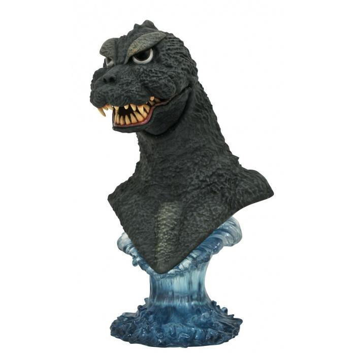 Godzilla: Legends in 3D - Godzilla 1964 1:2 Scale Bust Diamond Select Toys Product
