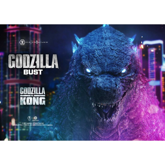 Godzilla vs Kong: Godzilla Bonus Version Bust Prime 1 Studio Product
