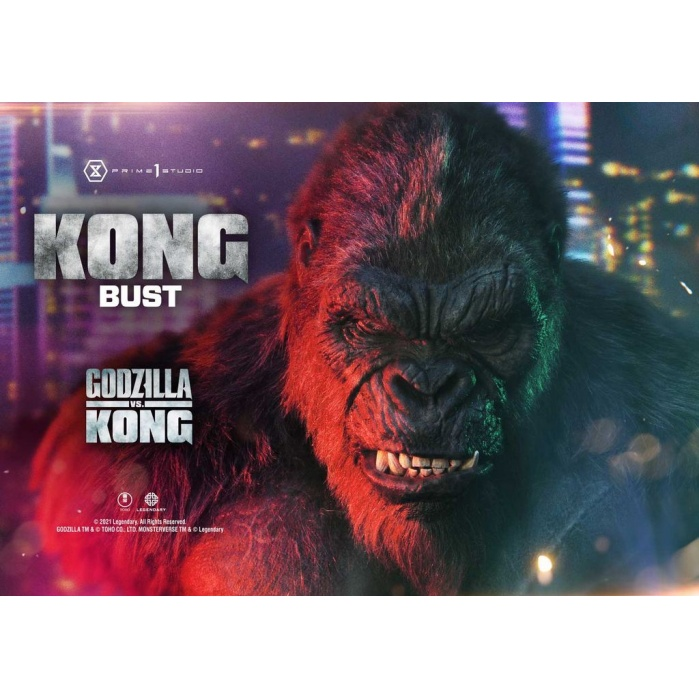 Godzilla vs Kong: Kong Bust Prime 1 Studio Product