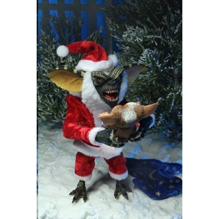 Gremlins: Santa Stripe with Gizmo 7 inch Action Figure NECA Product