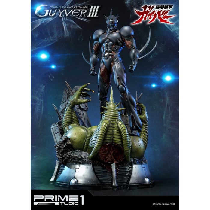 Guyver The Bioboosted Armor: Guyver 3 Statue Prime 1 Studio Product