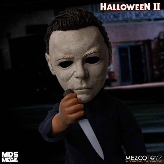 Halloween 2: Mega Scale Michael Myers 15 inch Figure with Sound Mezco Toyz Product