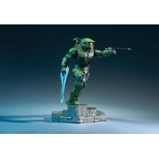 Halo Infinite: Master Chief with Grappleshot PVC Statue | Dark Horse