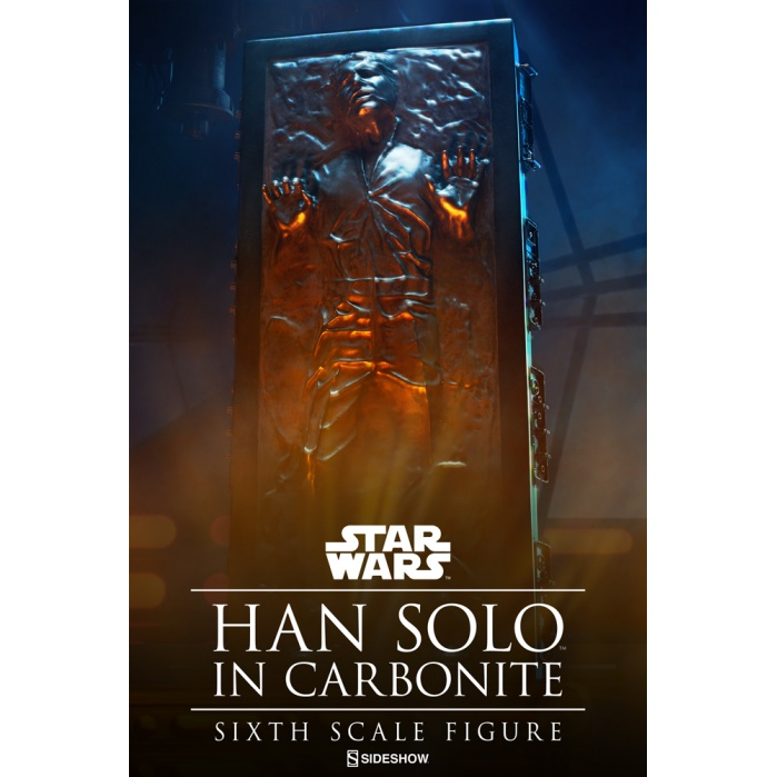 Han Solo in Carbonite Star Wars 1/6 Sideshow Collectibles Product
