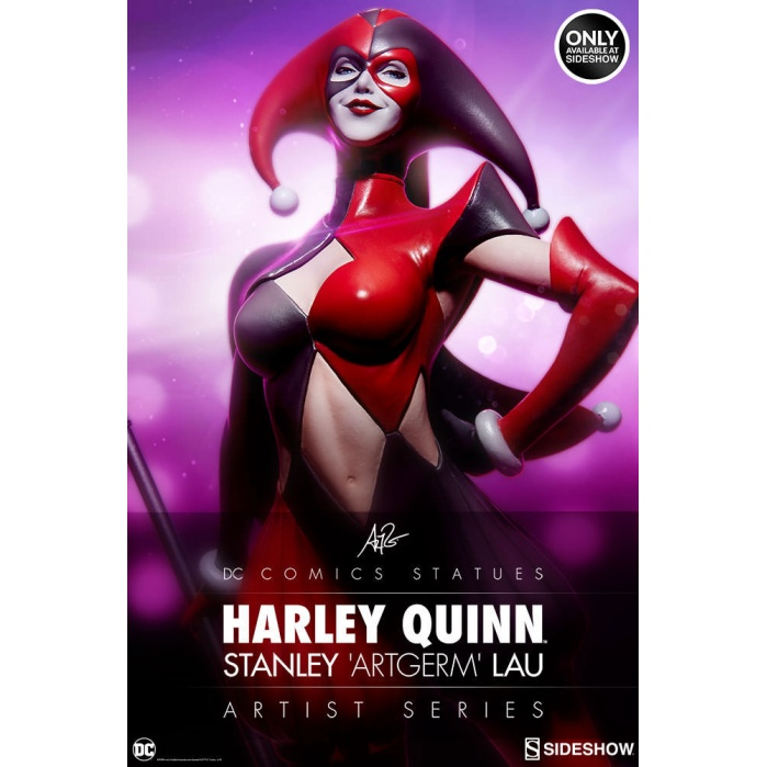Harley Quinn by Stanley Lau  Sideshow Exclusive Sideshow Collectibles Product