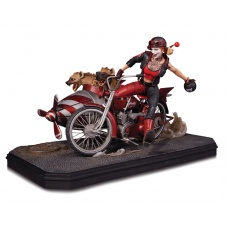 Harley Quinn Deluxe  statue - DC Collectibles (EU)