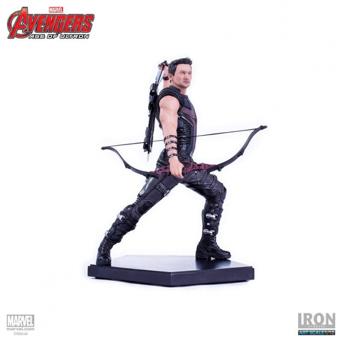 Hawkeye Avengers Age of Ultron Statue 1/10 Iron Studios Product