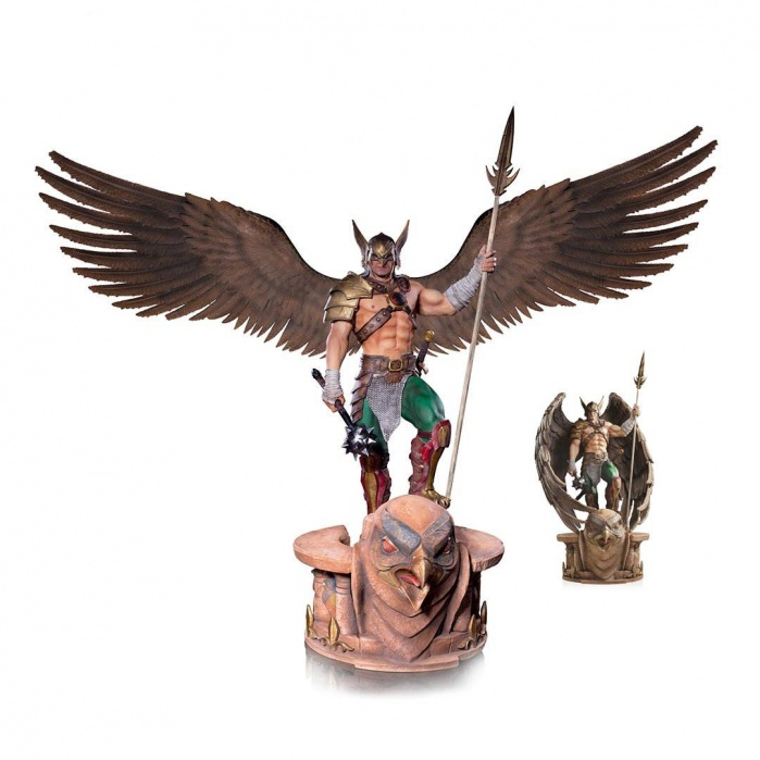 Hawkman Prime Series 4 - 1:3 Scale Statue by Ivan Reis Iron Studios Product