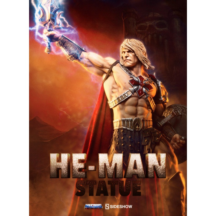 He-Man Masters of the Universe Statue Sideshow Collectibles Product