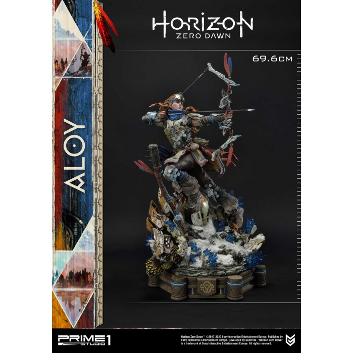 Horizon Zero Dawn: Aloy Shield Weaver Armor Set 1:4 Scale Statue Prime 1 Studio Product
