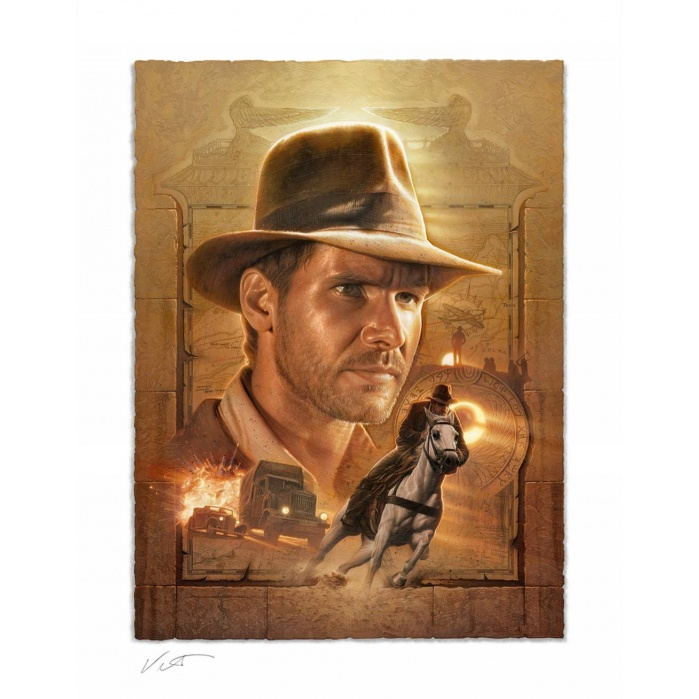 Indiana Jones: Pursuit of the Ark Unframed Art Print Sideshow Collectibles Product