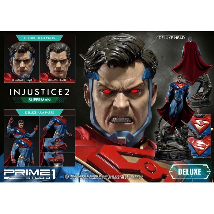 Injustice 2 Statue Superman Deluxe Version 74 cm Prime 1 Studio Product