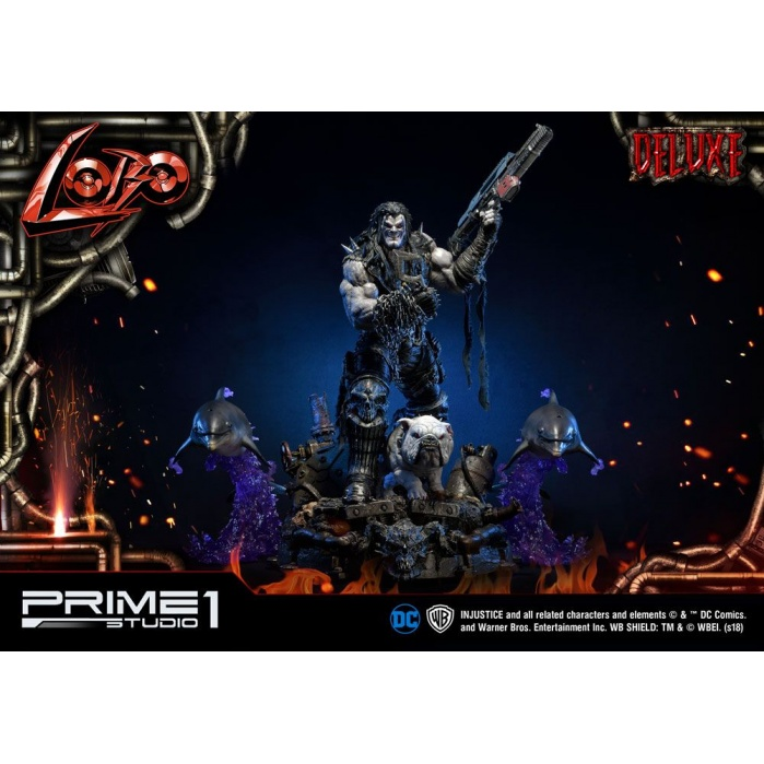 Injustice Gods Among Us Statue 1/3 Lobo Deluxe Version Prime 1 Studio Product