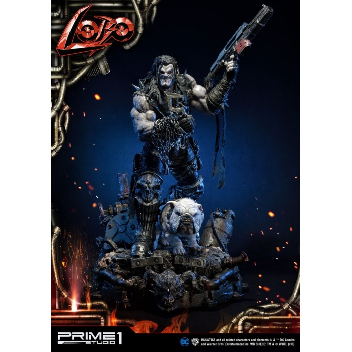 Injustice Gods Among Us Statue 1/3 Lobo Prime 1 Studio Product