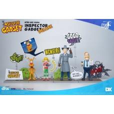 Inspector Gadget: Inspector Gadget Deluxe Version 1:12 Scale 3 Piece Set | Blitzway