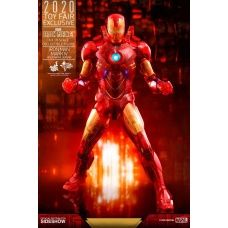 Iron Man 2 MM Action Figure 1/6 Iron Man Mark IV (Holographic Version) 2020 Toy Fair Exclusive | Hot Toys