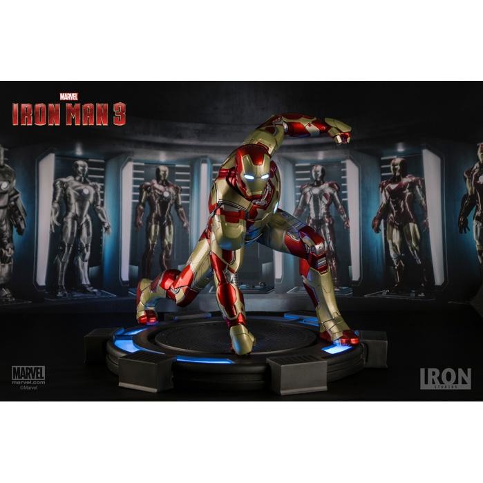 Iron Man 3 Statue 1/4 Iron Man Mark XLII Legacy 38 cm Iron Studios Product