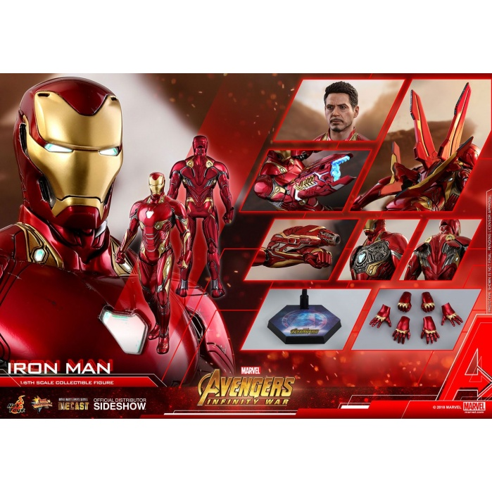 Iron Man Avengers Infinity War Diecast  1/6 Figure Hot Toys Product