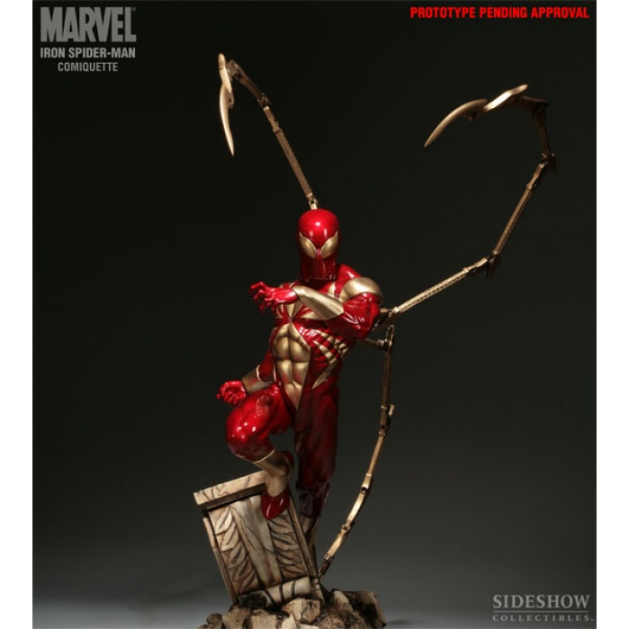 Iron Spider-Man Comiquette Sideshow Collectibles Product