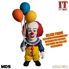 IT 1990: Deluxe Pennywise 6 inch Action Figure | Mezco Toyz