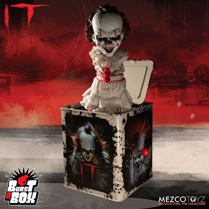 It 2017 Burst-A-Box Music Box Pennywise Mezco Toyz Product