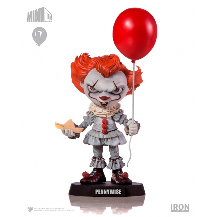 IT: Minico Pennywise PVC Statue Iron Studios Product
