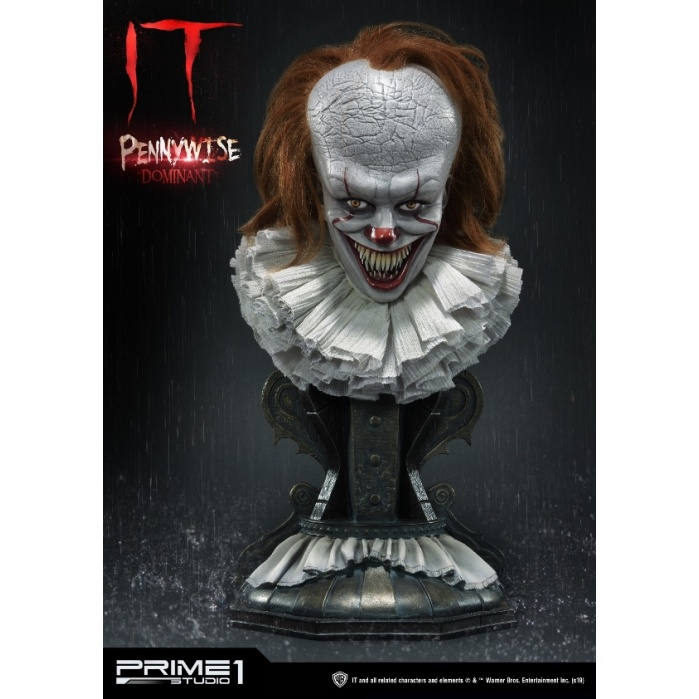 IT: Pennywise Dominant 1:2 Scale Bust Prime 1 Studio Product