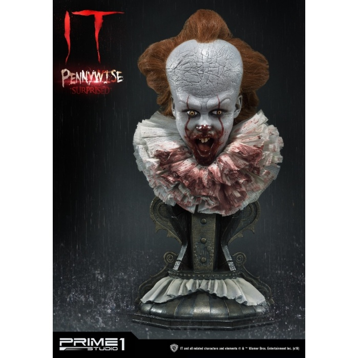 IT: Pennywise Surprised 1:2 Scale Bust Prime 1 Studio Product