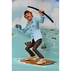 Jaws: Toony Terrors - Jaws and Quint 6 inch Action Figure 2-Pack | NECA