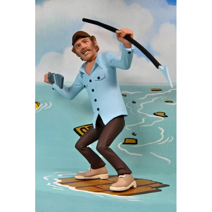 Jaws: Toony Terrors - Jaws and Quint 6 inch Action Figure 2-Pack NECA Product