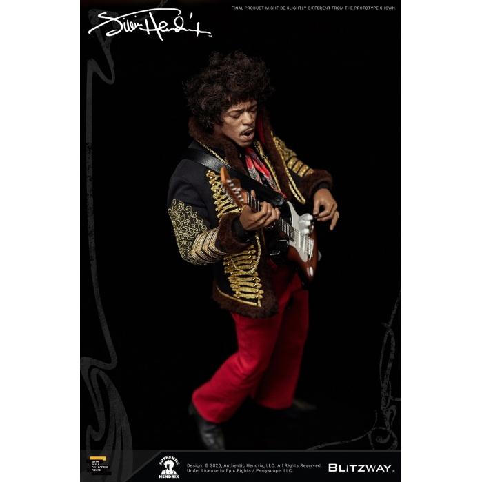 Jimi Hendrix: 1:6 Scale Figure Blitzway Product