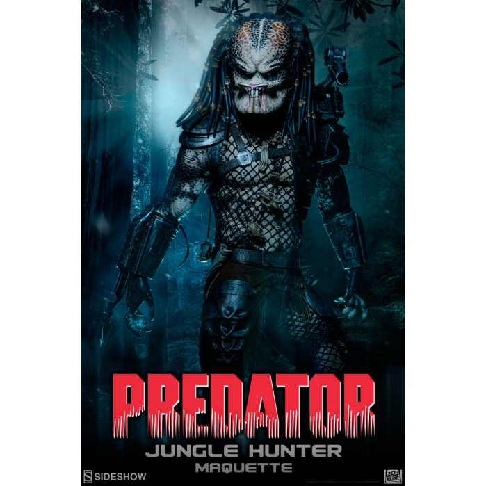 Jungle Hunter Predator Maquette Sideshow Collectibles Product