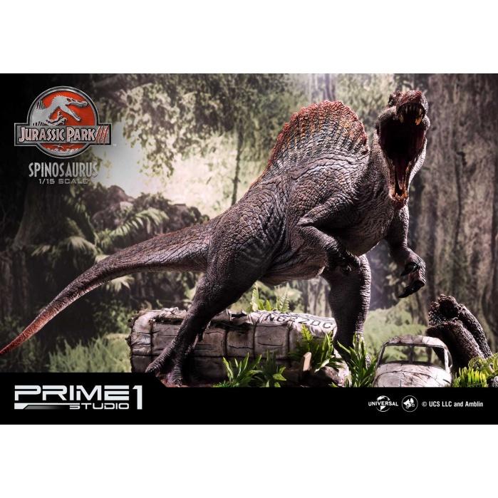 Jurassic Park 3: Spinosaurus Bonus Version 1:15 Scale Statue Prime 1 Studio Product