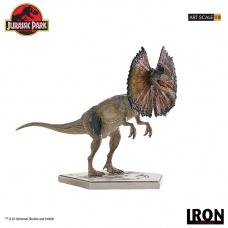 Jurassic Park: Dilophosaurus 1:10 Scale Statue | Iron Studios