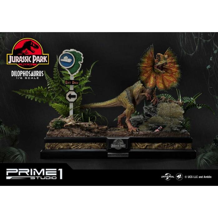 Jurassic Park: Dilophosaurus Bonus Version 1:6 Scale Statue Prime 1 Studio Product