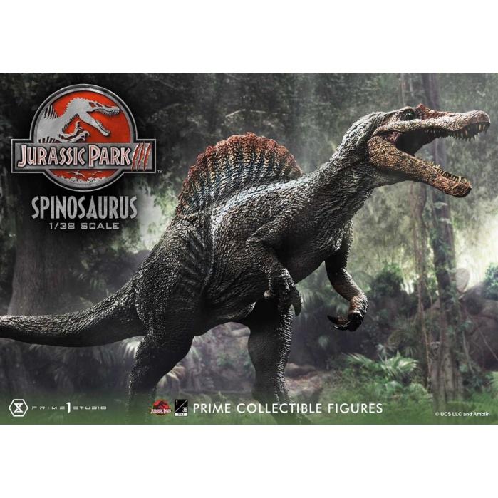Jurassic Park III: Spinosaurus 1:38 Scale Statue Prime 1 Studio Product