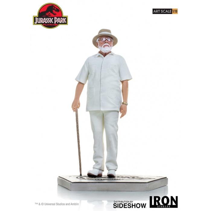 Jurassic Park: John Hammond 1:10 Scale Statue Iron Studios Product