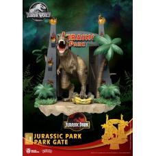 Jurassic Park: Park Gate PVC Diorama | Beast Kingdom