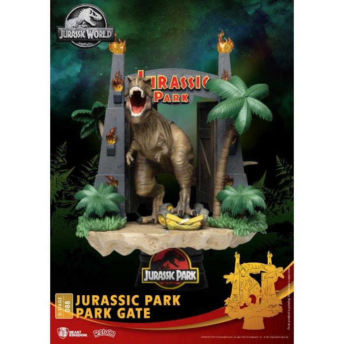Jurassic Park: Park Gate PVC Diorama Beast Kingdom Product