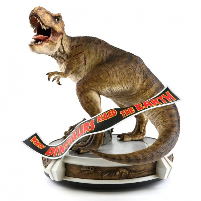 Jurassic Park Statue 1/9 Rotunda Rex 55 cm Chronicle Collectibles Product