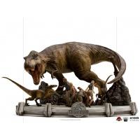 Jurassic Park: The Final Scene 1:20 Scale Diorama Iron Studios Product